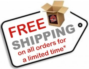 Free global shipping on all orders!